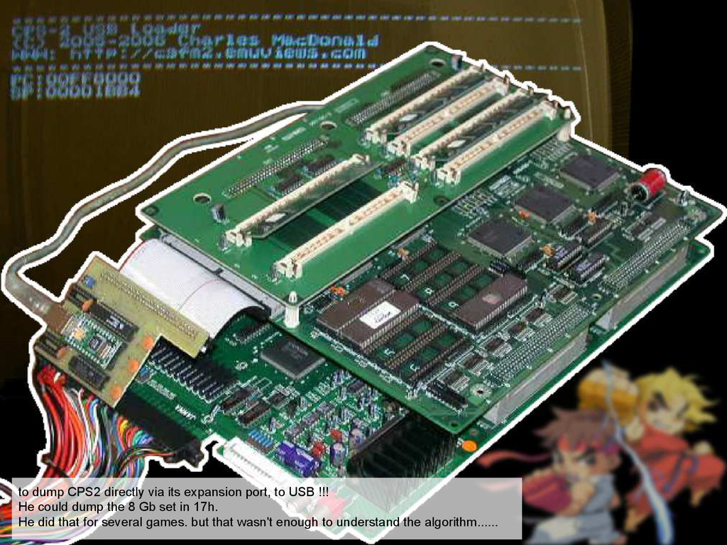 to dump CPS2 directly via its expansion port, t...