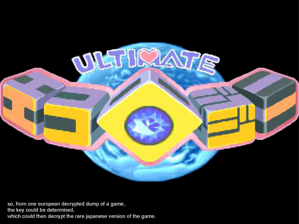 so, from one european decrypted dump of a game,...