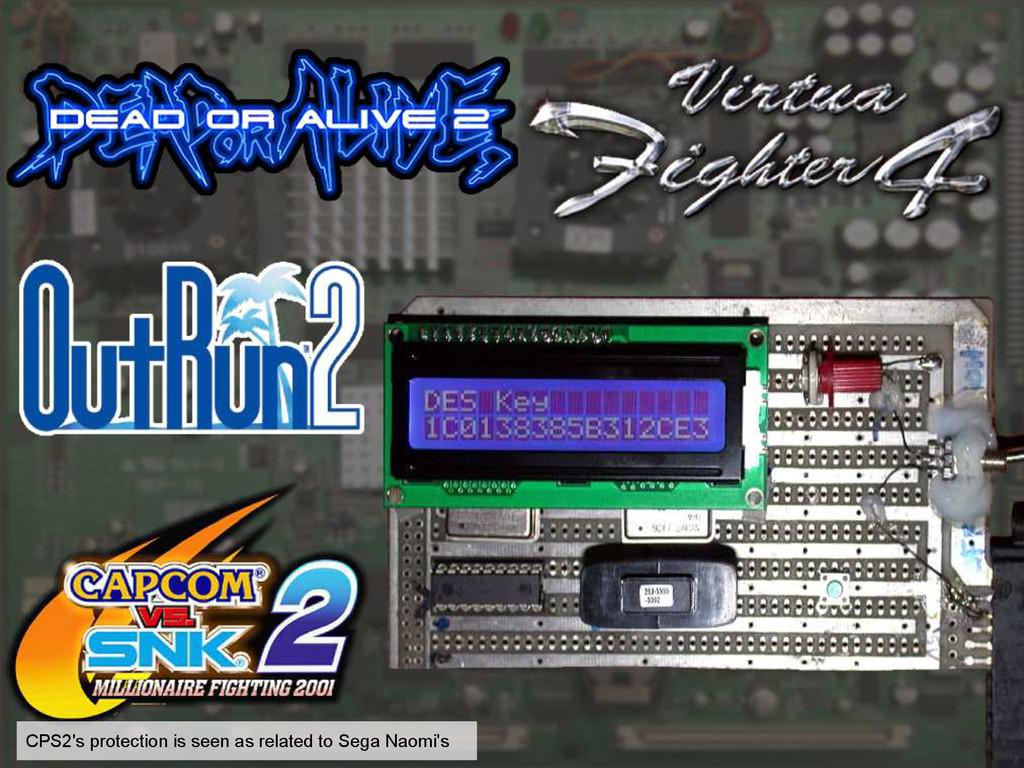 CPS2's protection is seen as related to Sega Na...
