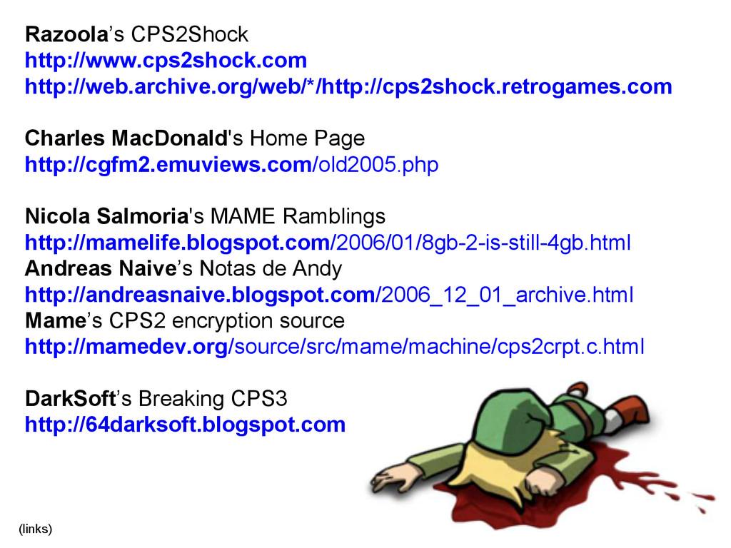 Razoola's CPS2Shock http://www.cps2shock.com ht...