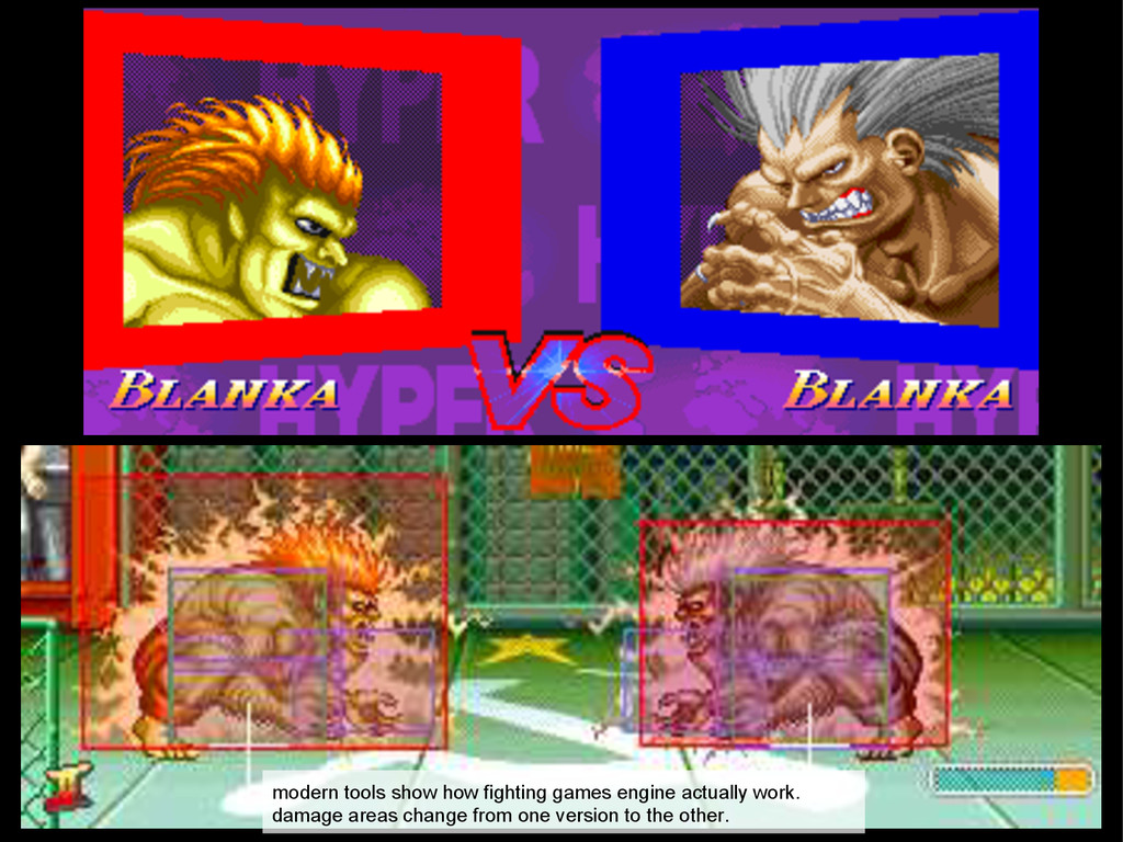 modern tools show how fighting games engine act...