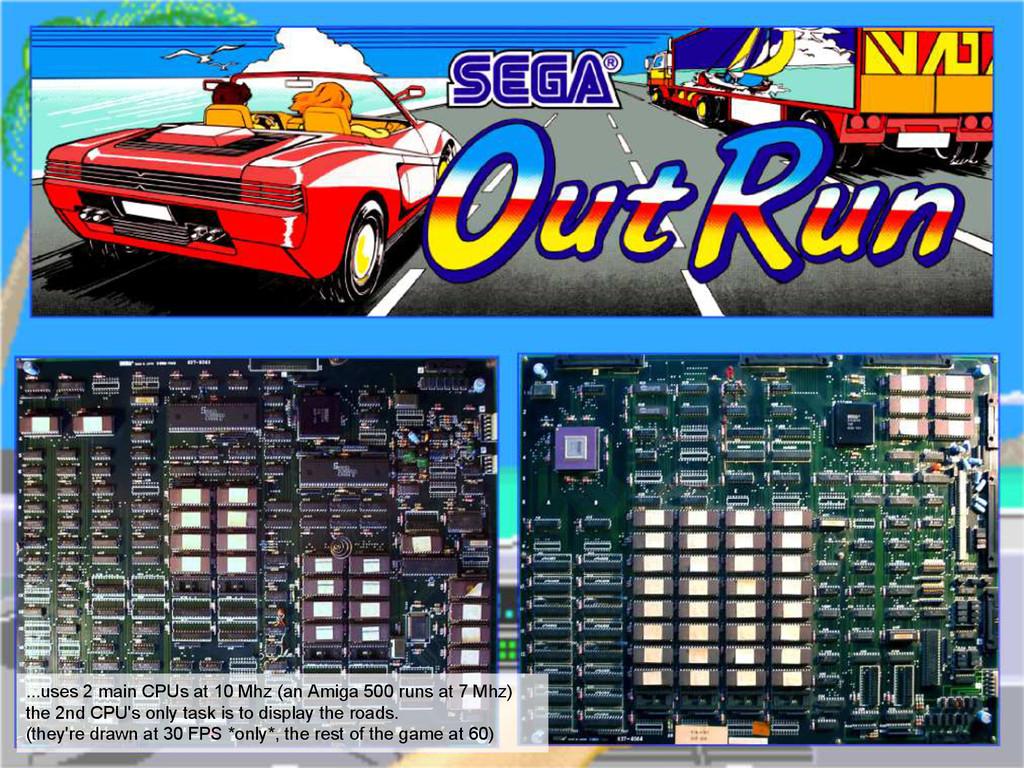...uses 2 main CPUs at 10 Mhz (an Amiga 500 run...