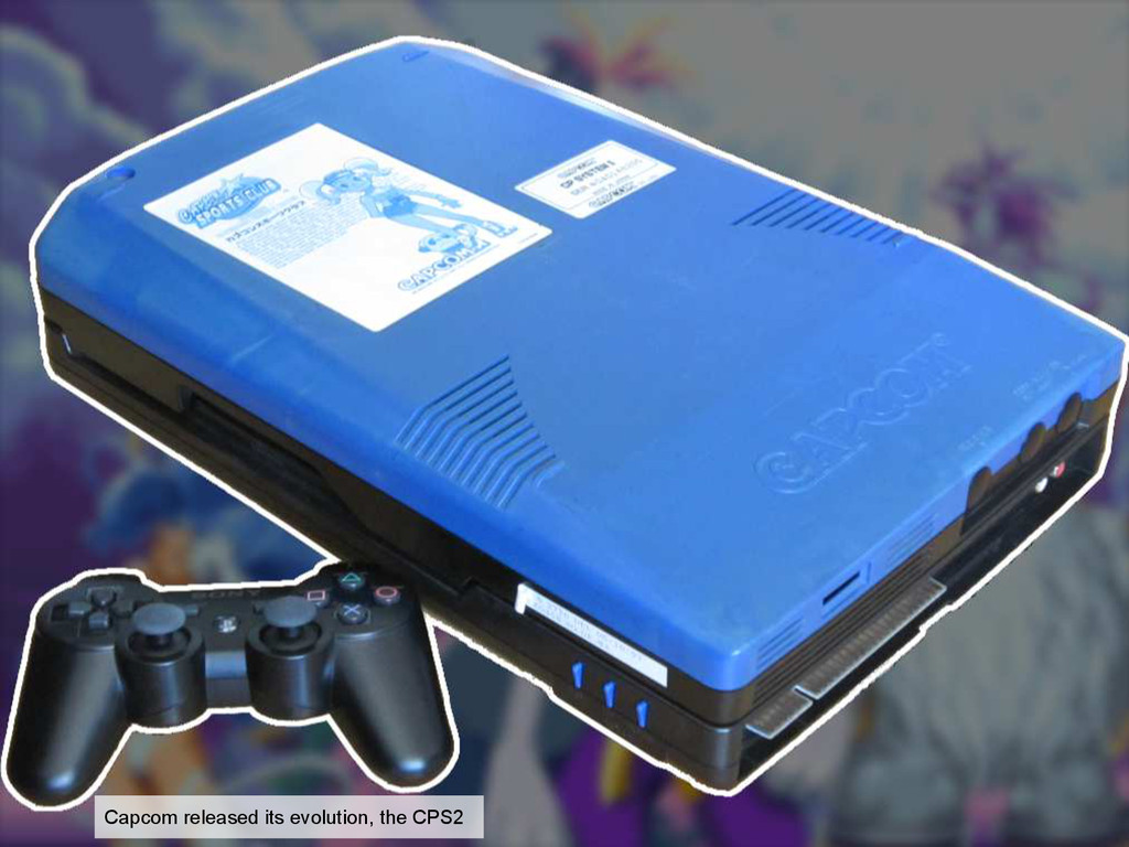 Capcom released its evolution, the CPS2