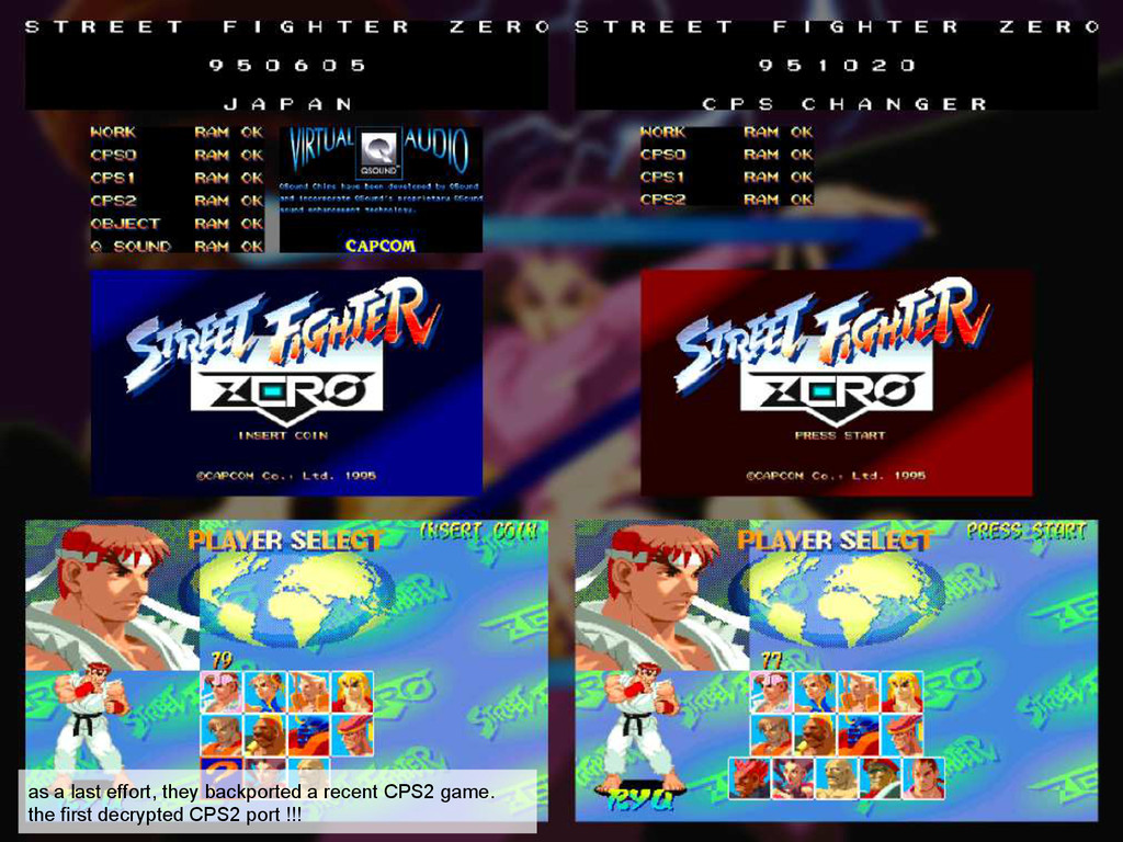 as a last effort, they backported a recent CPS2...