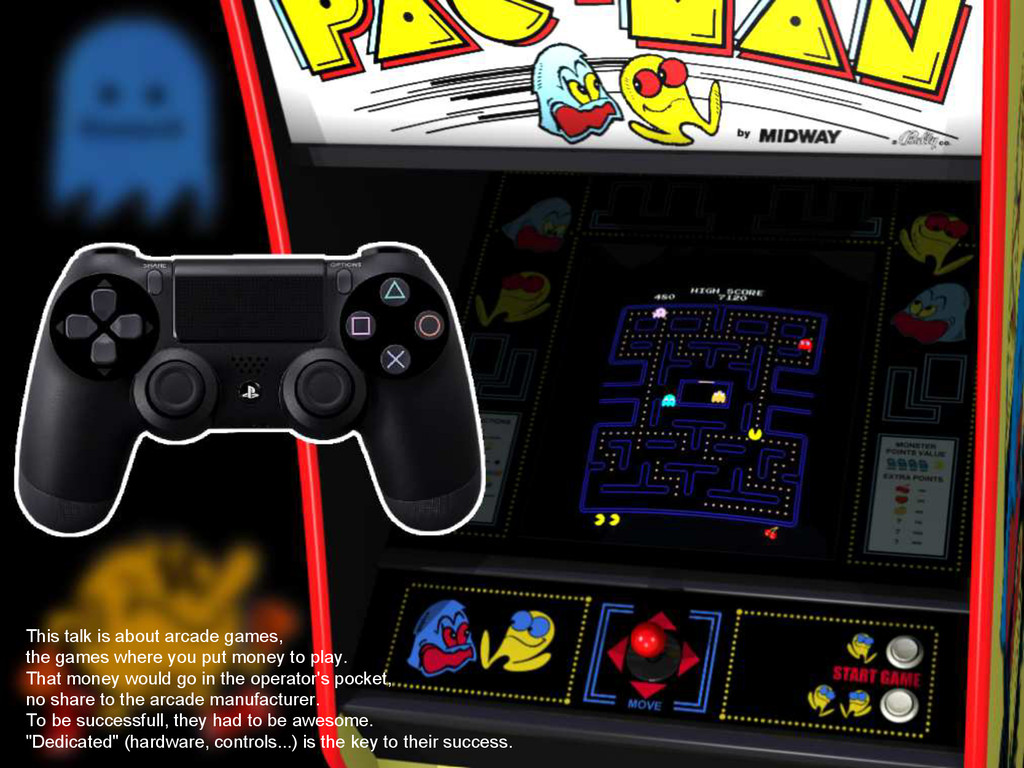 This talk is about arcade games, the games wher...