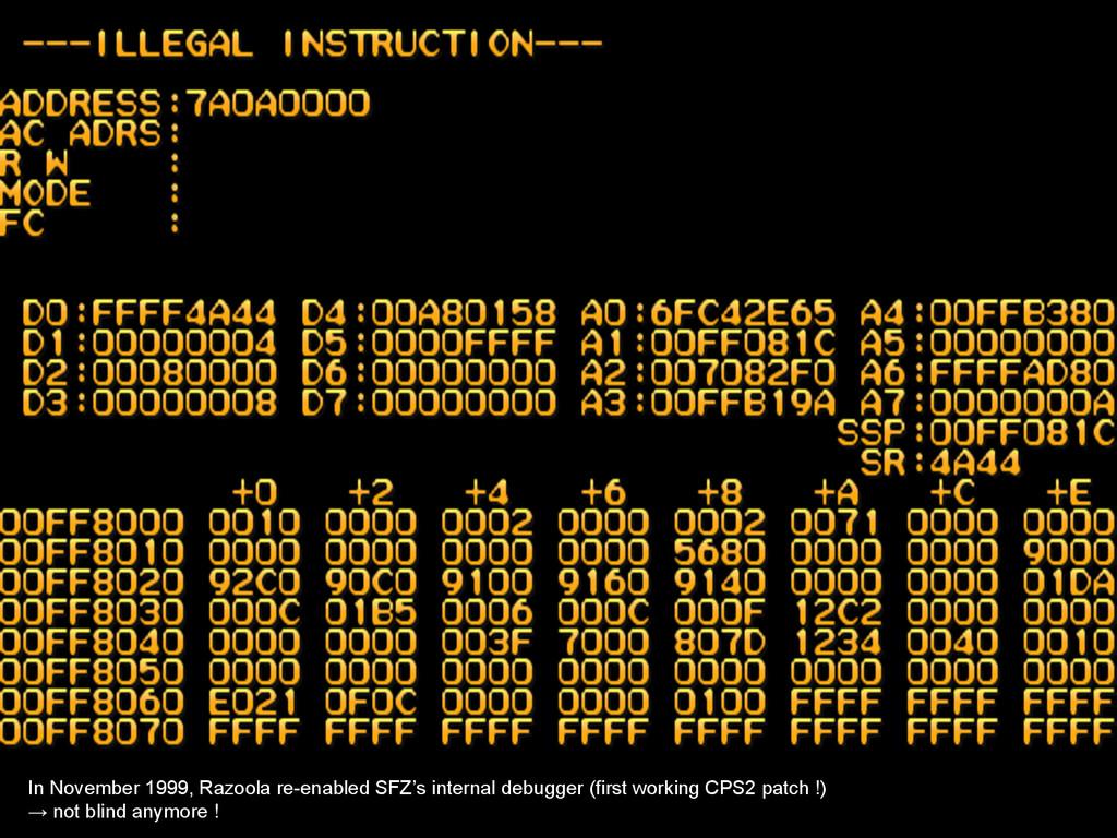 In November 1999, Razoola re-enabled SFZ's inte...