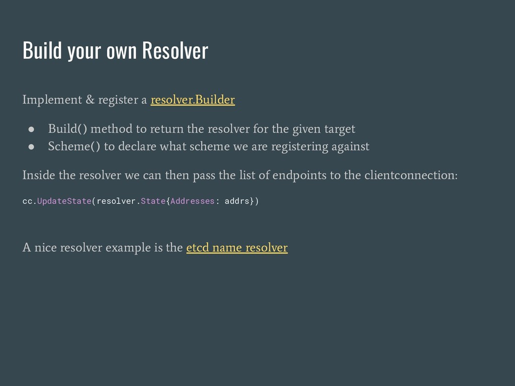 Build your own Resolver Implement & register a ...