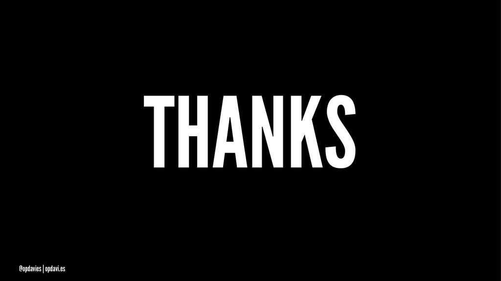 THANKS @opdavies   opdavi.es