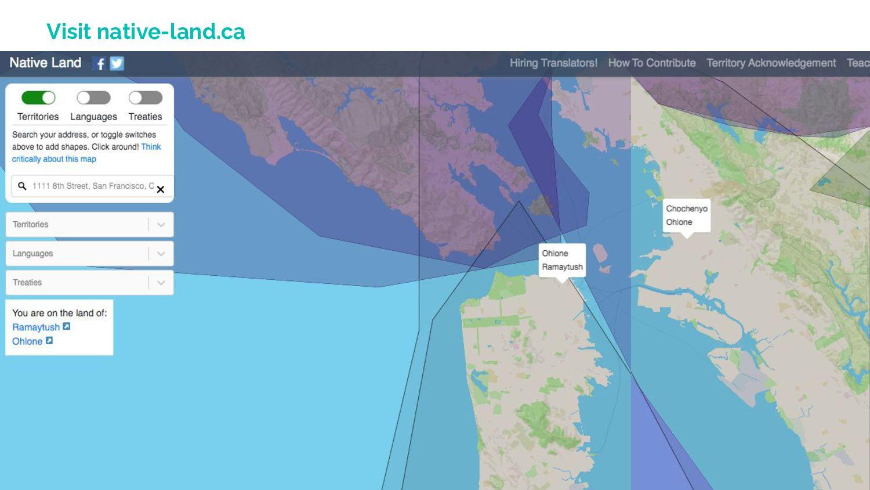 Visit native-land.ca
