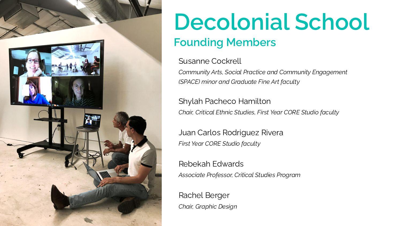Decolonial School Founding Members Susanne Cock...
