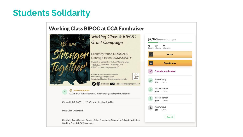 Students Solidarity