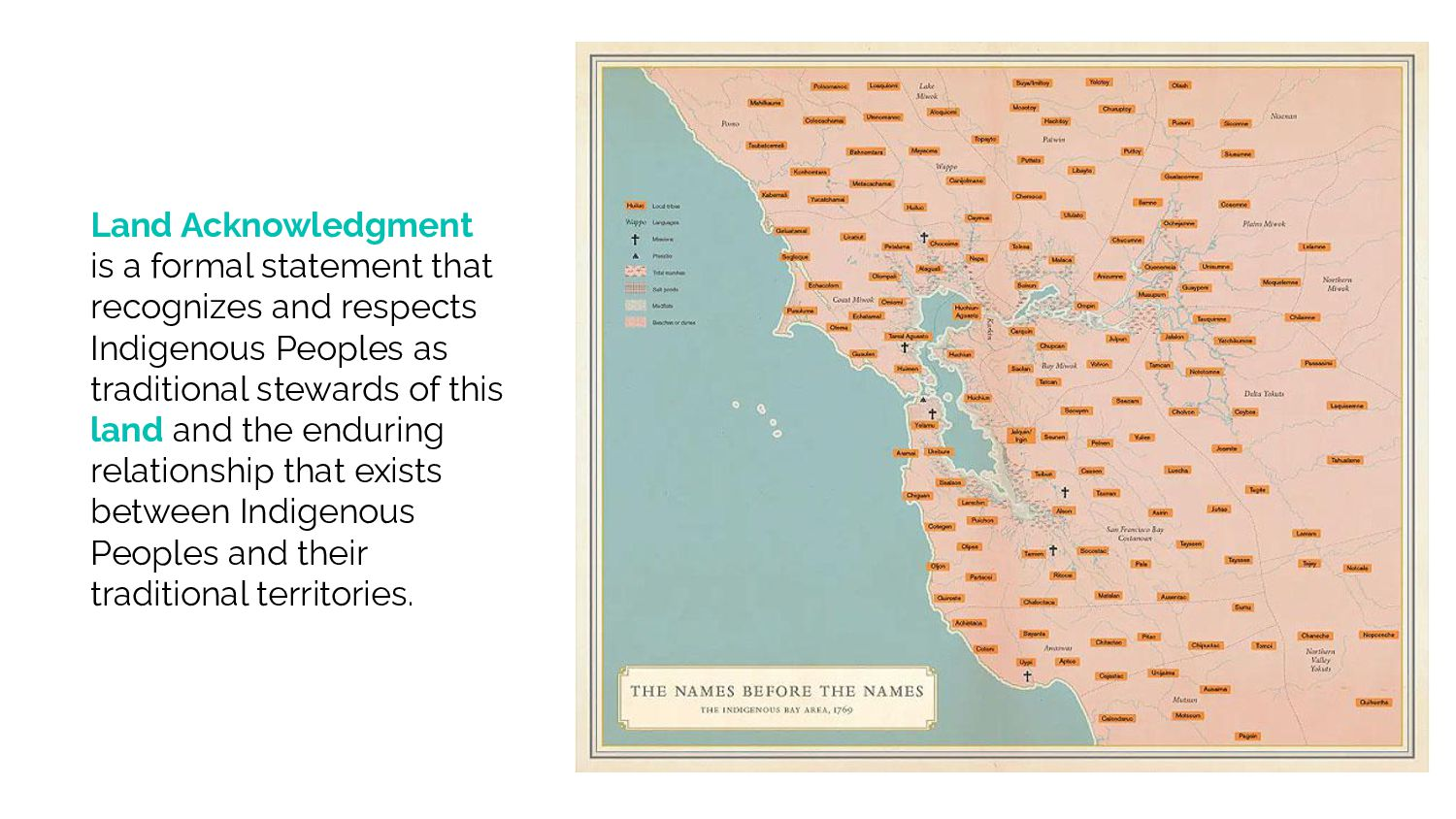 Land Acknowledgement is a formal statement that...
