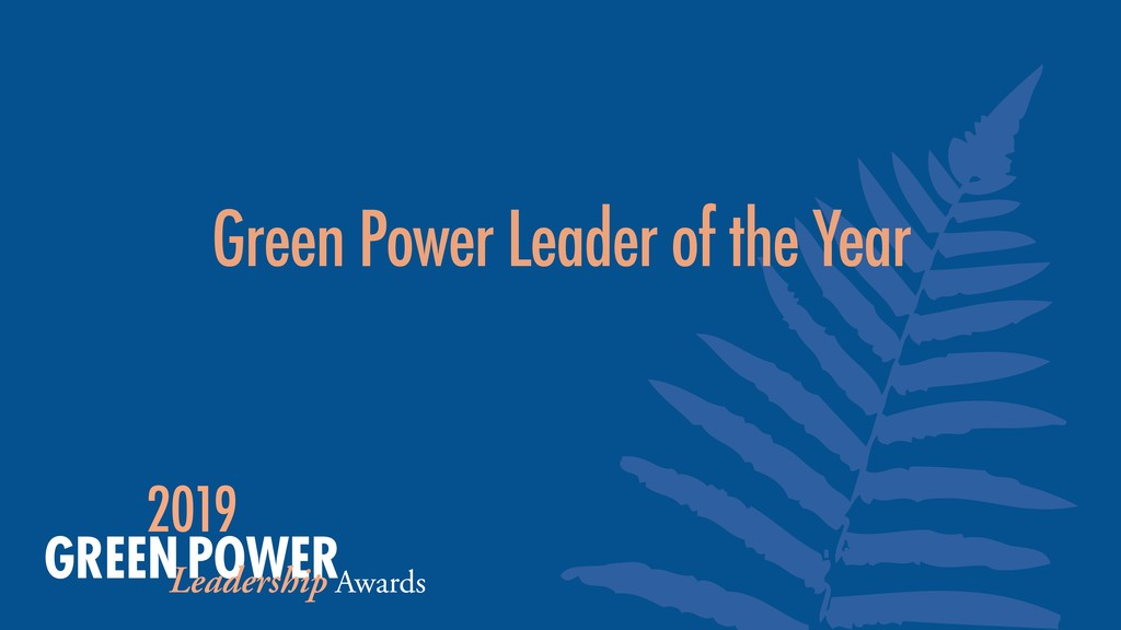 Green Power Leader of the Year