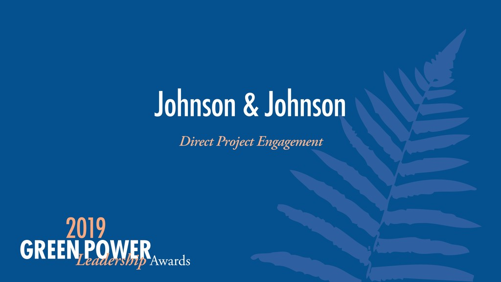 Johnson & Johnson Direct Project Engagement