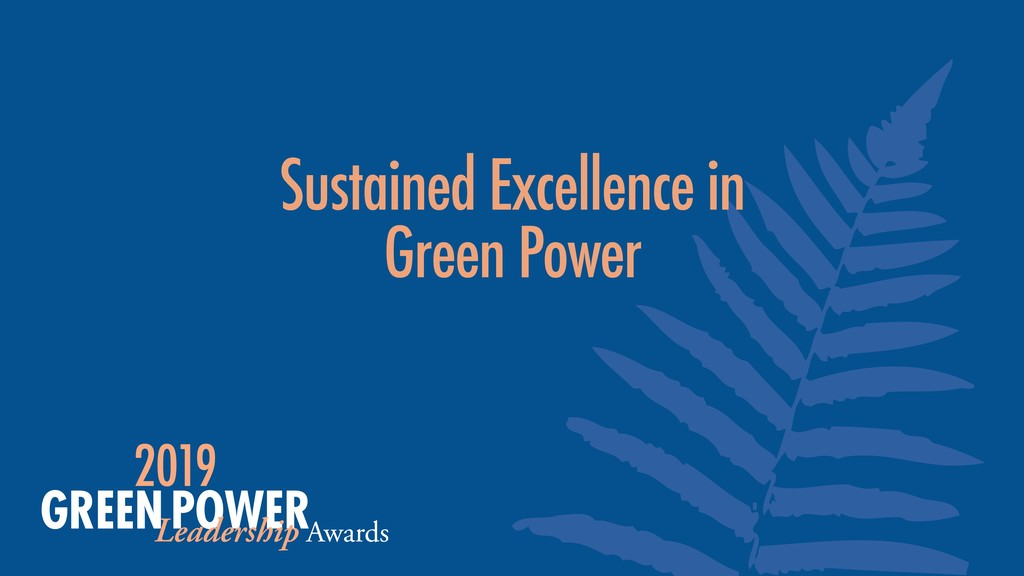 Sustained Excellence in 