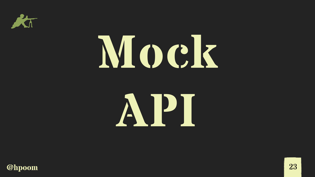 @hpoom m Mock API 23