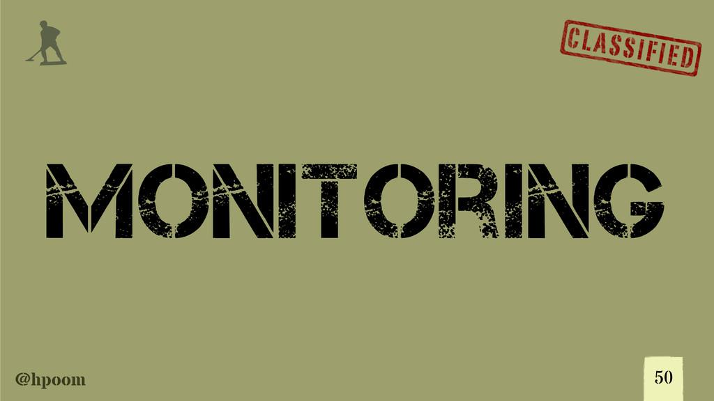 @hpoom j Monitoring 50