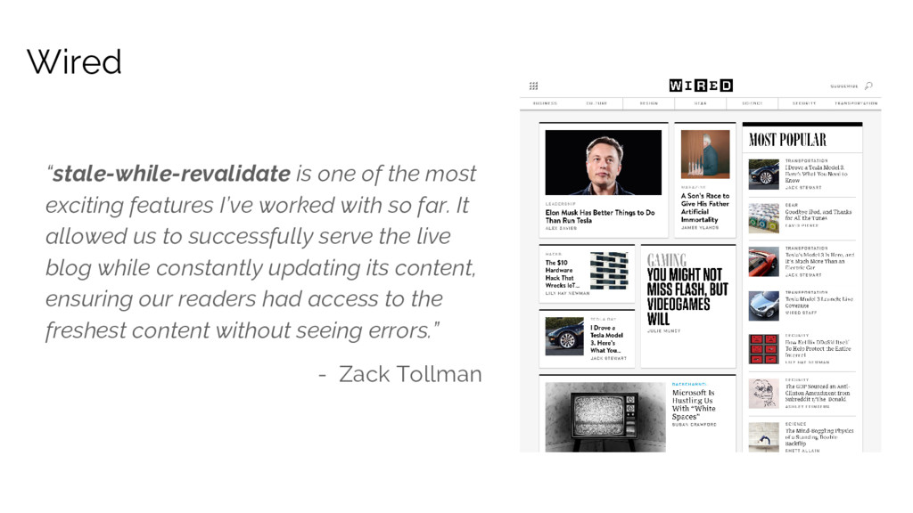 """""""stale-while-revalidate is one of the most exci..."""
