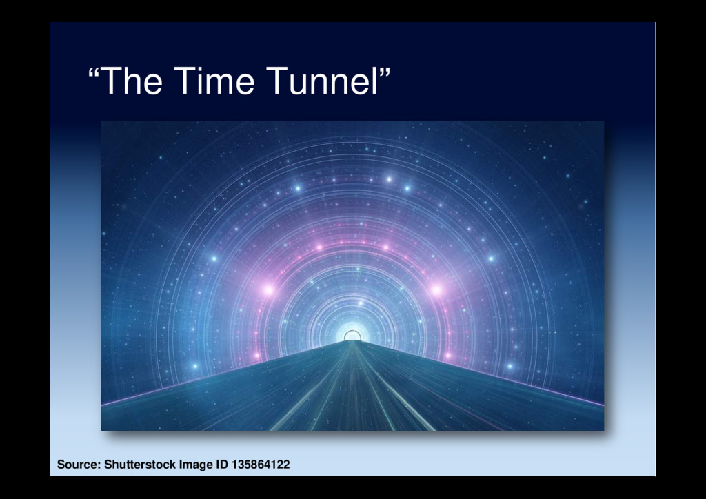 """The Time Tunnel"" Source: Shutterstock Image ID..."