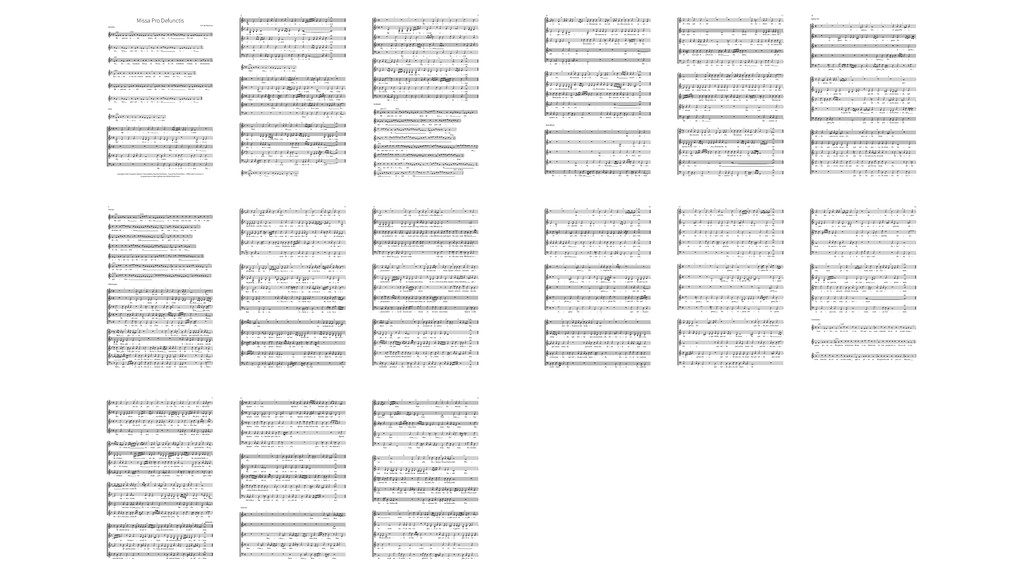 Missa Pro Defunctis G.P. da Palestrina Introitu...