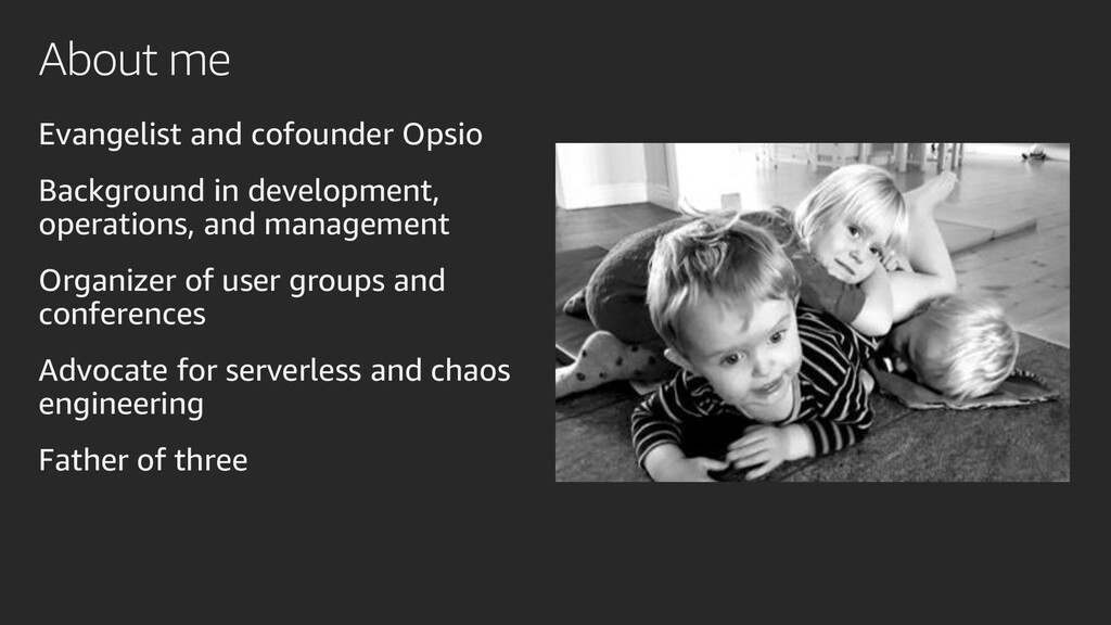About me Evangelist and cofounder Opsio Backgro...