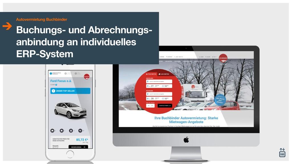 Autovermietung Buchbinder Titel - Untertitel Au...