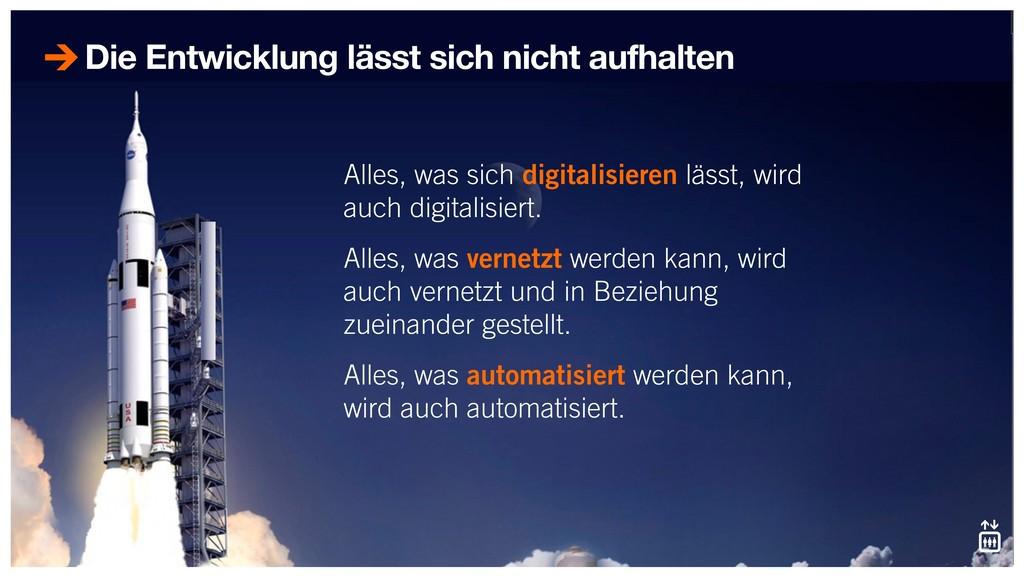 Alles, was sich digitalisieren lässt, wird auch...