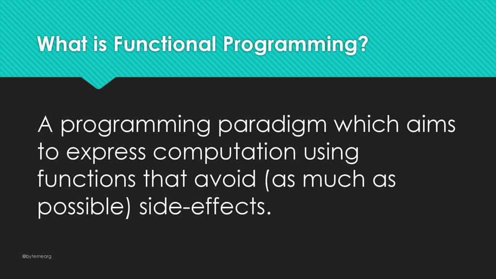 What is Functional Programming? A programming p...