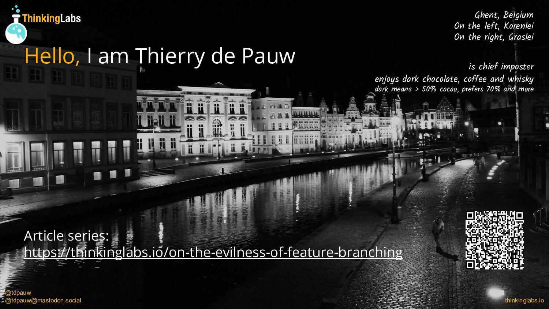 @tdpauw thinkinglabs.io Resources SCM Patterns ...
