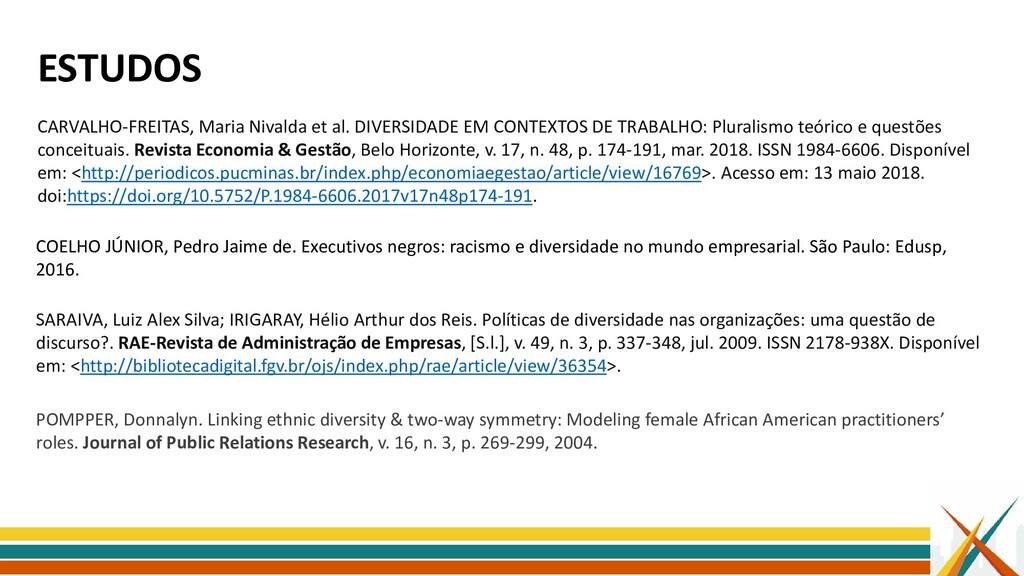 ESTUDOS SARAIVA, Luiz Alex Silva; IRIGARAY, Hél...