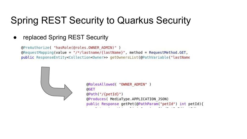 Spring REST Security to Quarkus Security ● repl...