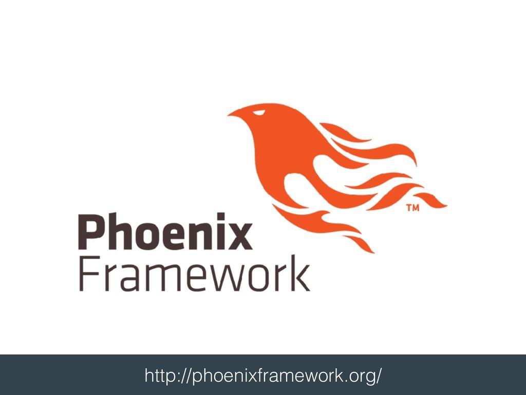 http://phoenixframework.org/