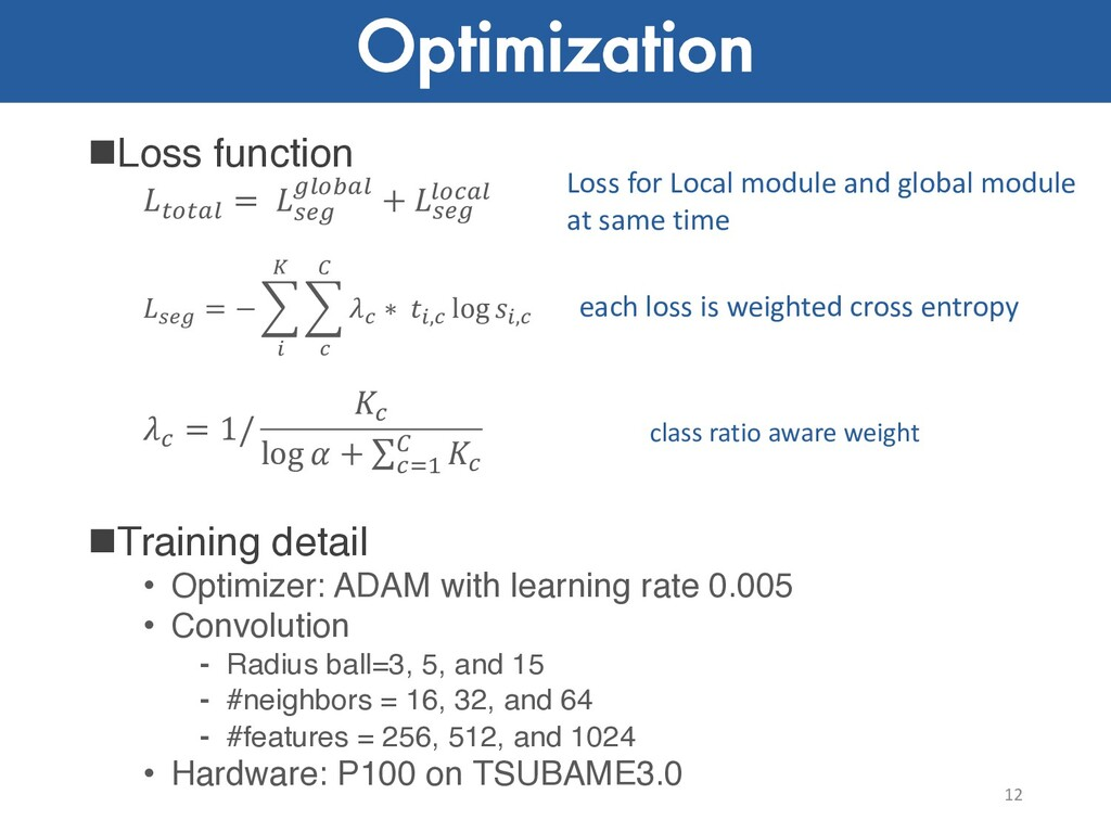 "Optimization nLoss function !""!#$ = %&' '$""(#$ ..."