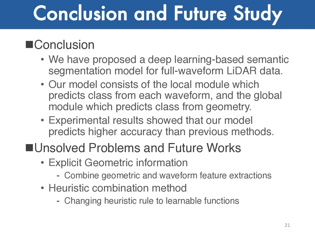 Conclusion and Future Study nConclusion • We ha...