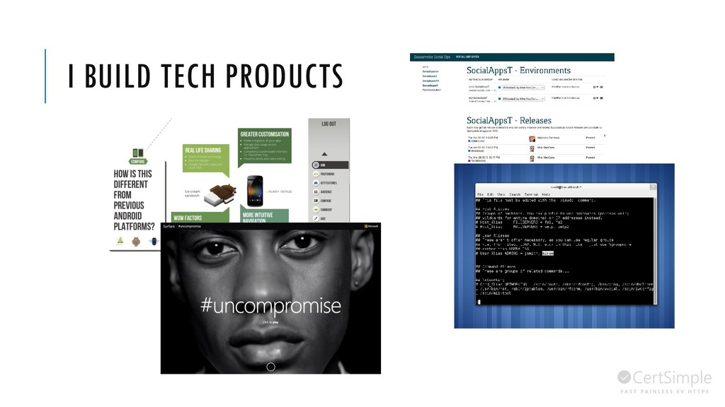 I BUILD TECH PRODUCTS