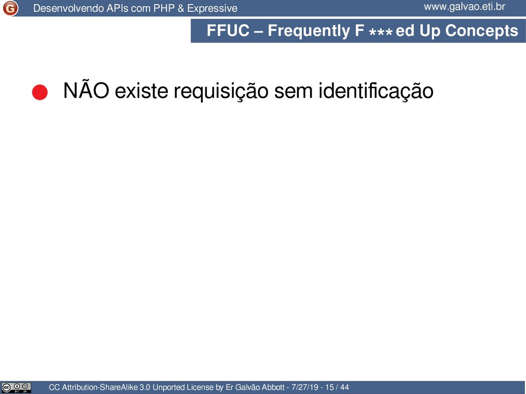 FFUC – Frequently F ed Up Concepts CC Attributi...