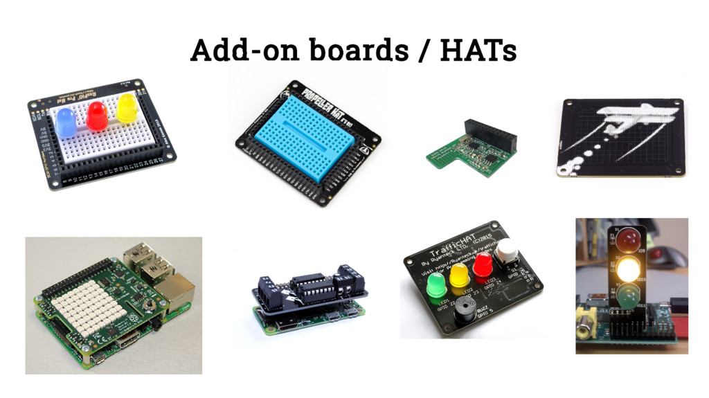 Add-on boards / HATs