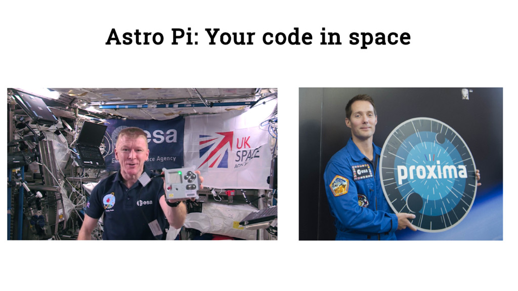 Astro Pi: Your code in space