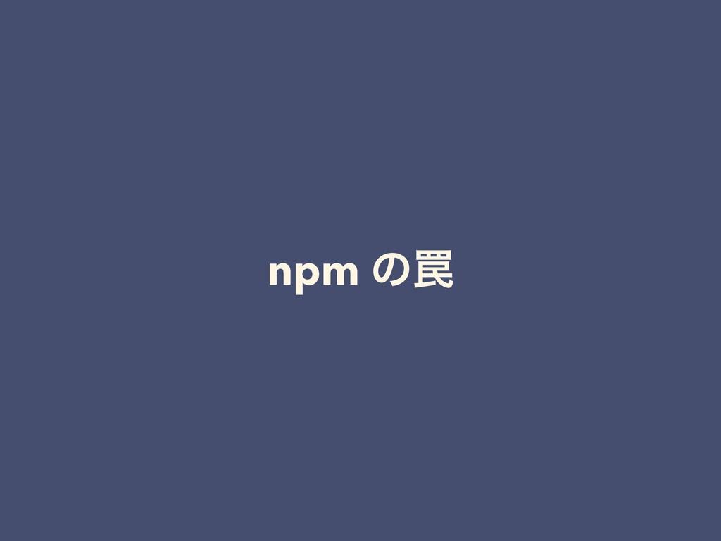 npm ͷ᠘