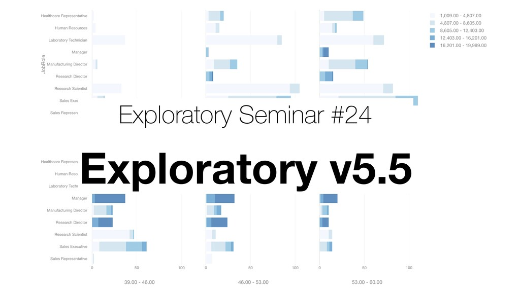 Exploratory Seminar #24 Exploratory v5.5