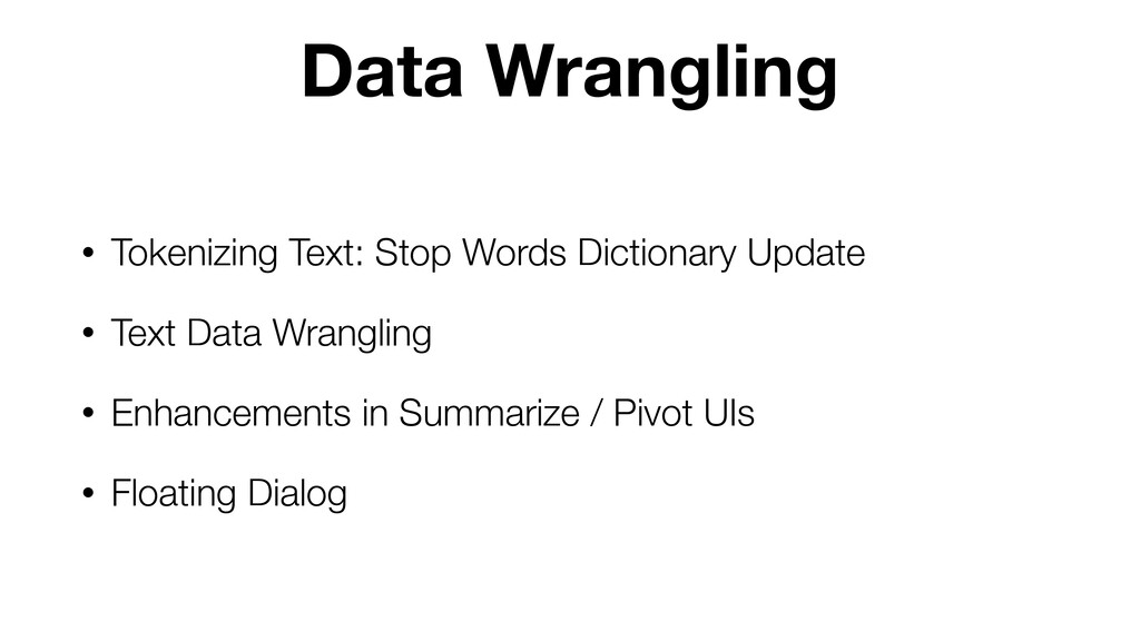 • Tokenizing Text: Stop Words Dictionary Update...
