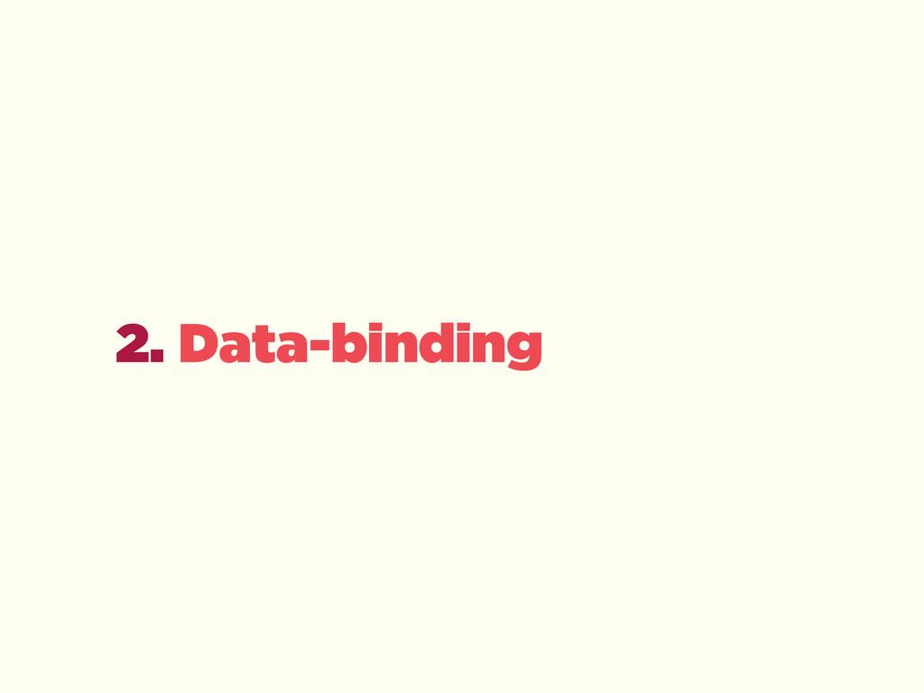 2. Data-binding