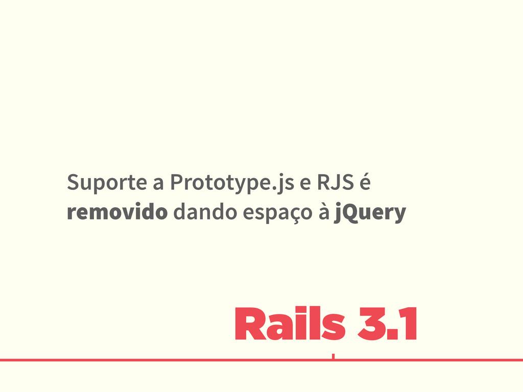 Rails 3.1 Suporte a Prototype.js e RJS é removi...