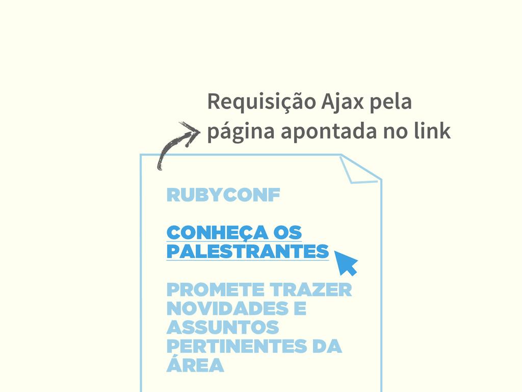 RUBYCONF  CONHEÇA OS PALESTRANTES PROMETE TRA...