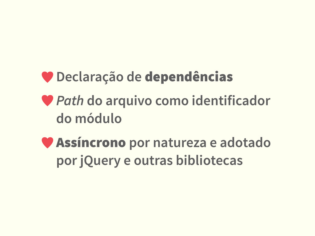 Declaração de dependências Path do arquivo como...