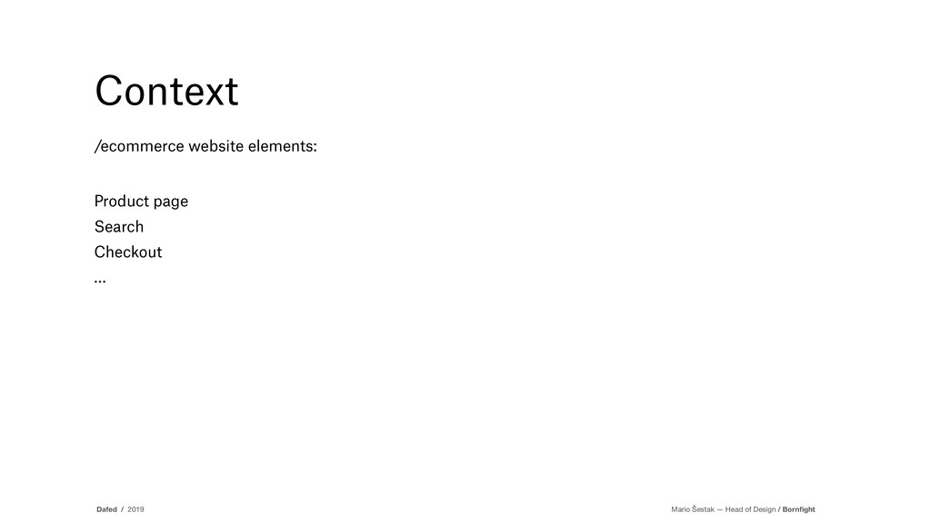 Context /ecommerce website elements: Product pa...