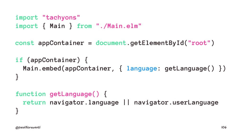 "import ""tachyons"" import { Main } from ""./Main...."
