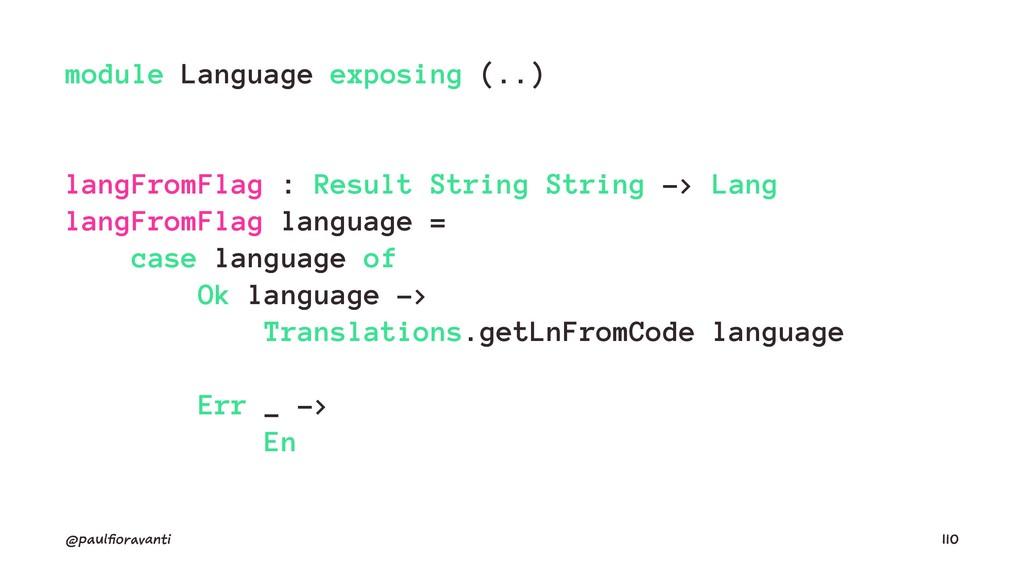 module Language exposing (..) langFromFlag : Re...