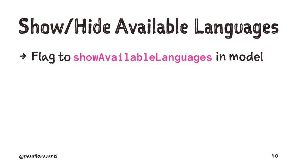 Show/Hide Available Languages 4 Flag to showAva...