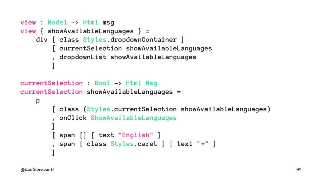 view : Model -> Html msg view { showAvailableLa...
